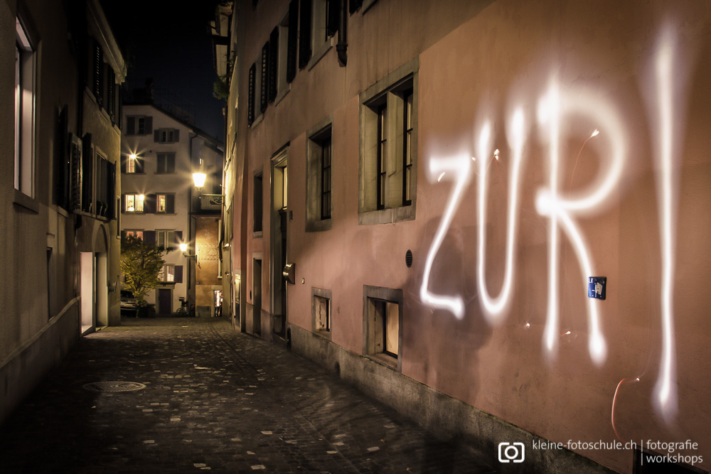 Light-Painting in Zürich